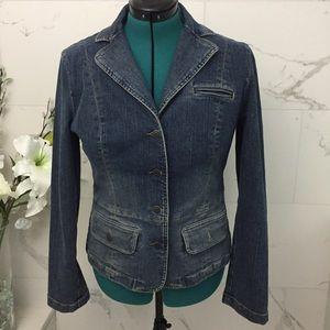EUC Loft denim jacket 12
